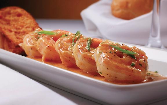 BBQ Shrimp, New Orleans style.