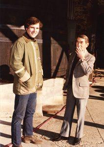 Rick Sayre and André Tchelistcheff