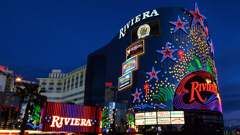 A las vegas icon to close in the mix magazine for Riviera resort las vegas