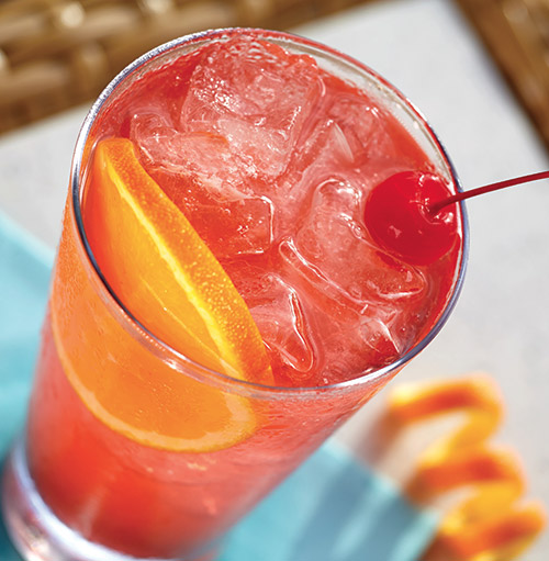 A refreshing cherry limeade.