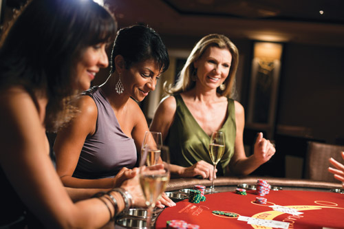The casino on the Norwegian Epic offers a wide variety of adult gaming.