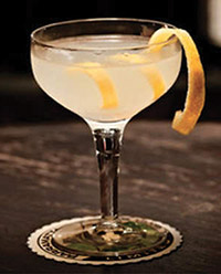 A classic French 75. Try one at Arnaud's the next time you are in New Orleans.