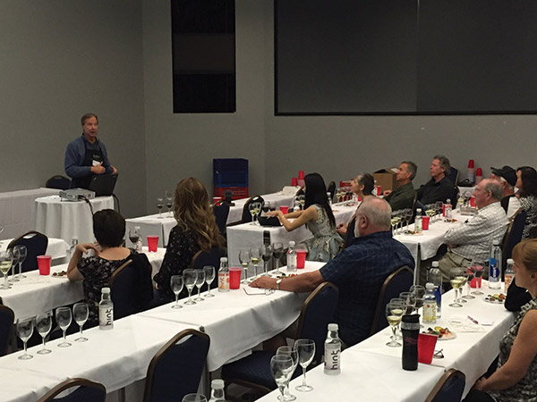 Tim Hanni, Master of Wine, teaches one of the many sessions available.