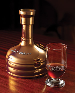 Utopias along with the specially designed Riedel glass