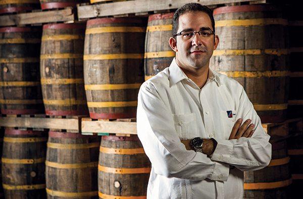 Fifth generation Rum Master Gustavo Ortega Z.