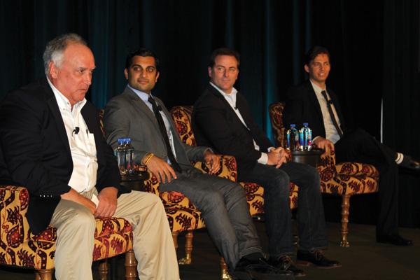Left to right: Scott Riley, Nik Kundra, Brendan Reilly and Adam Billings