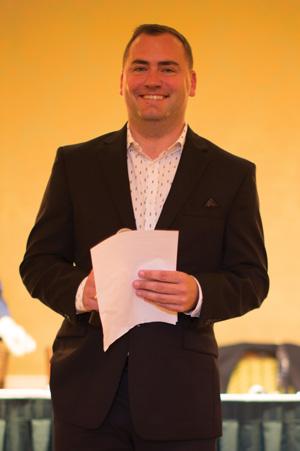 Master of Ceremonies Patrick McGinn, IMI