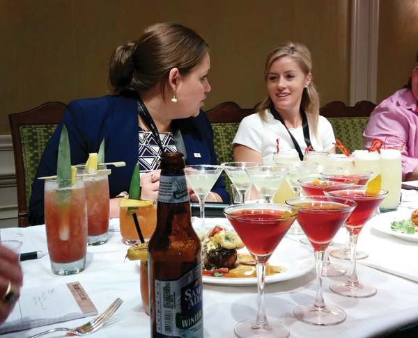 Lauren LaViola, CORE, and Charlotte Voisey discuss cocktail pairings.