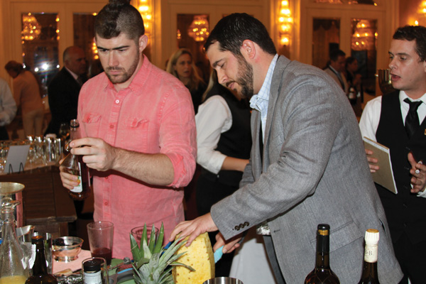 Mike Ryan, Kimpton Resorts, and Brandon Wise, Sage Hospitality, contemplate their creation.