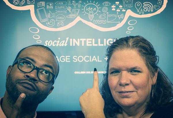 Jason Page and Colleen Sisler, IMI