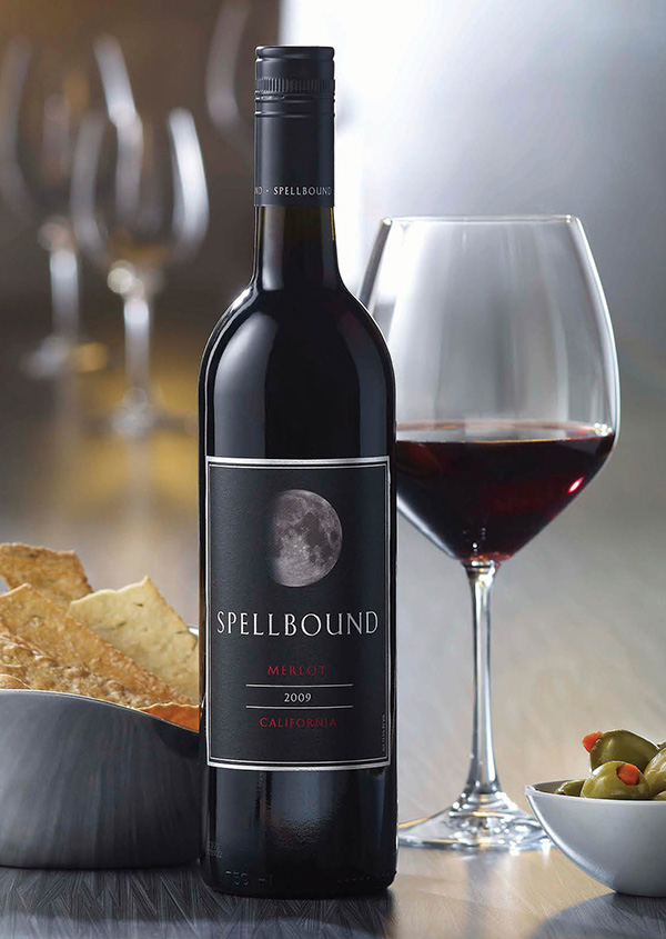 Spellbound Merlot has deep flavors of ripe berry and balanced American oak, which are displayed with rich aromatics of mixed berry pie, cocoa, cigar box and decadent leather.