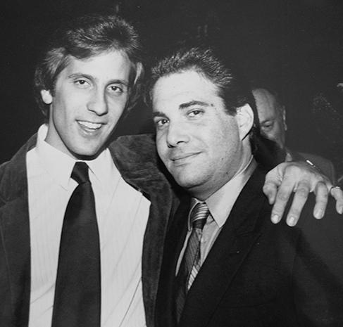 Jeff Bartfield (right), circa 1983.