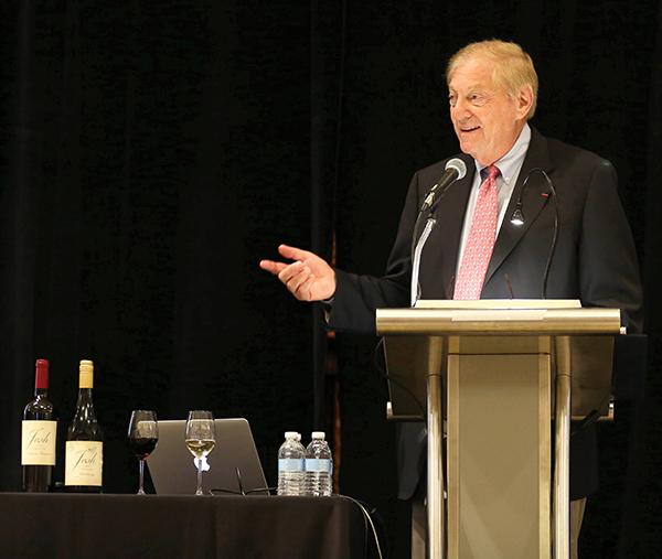 The opening keynote speaker, Bill Deutsch.