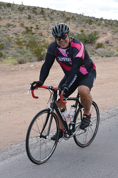 Tony Abou-Ganim in Las Vegas (Red Rock Canyon area).