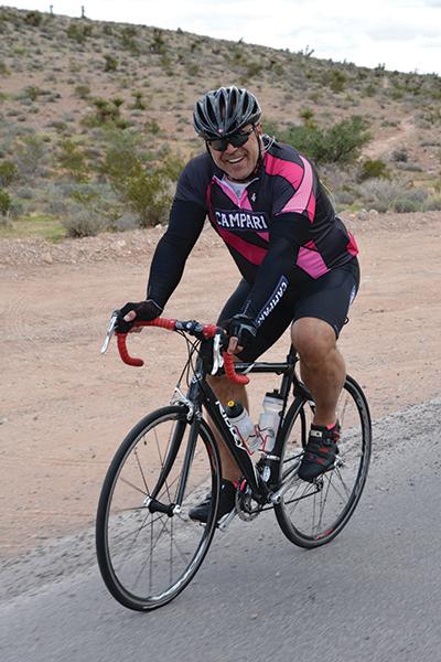 Tony Abou-Ganim in Las Vegas (Red Rock Canyon area).