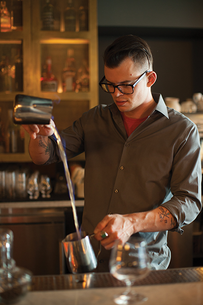 Benjamin Harris, head bartender at Pennyroyal in Seattle.