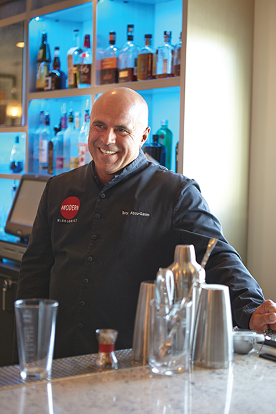 Tony Abou-Ganim, the Modern Mixologist.