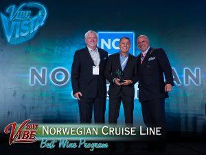 Vibe Awards 2017 - Norwegian Cruise Lines - Best Wine Program