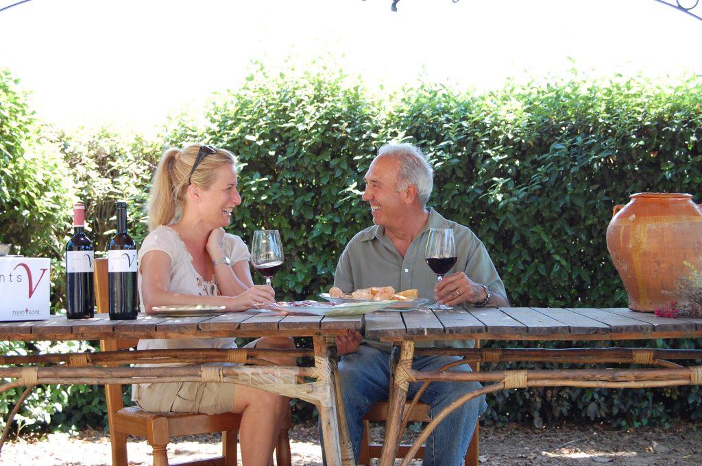 Mary Melton with Senor Capafons-Osso.