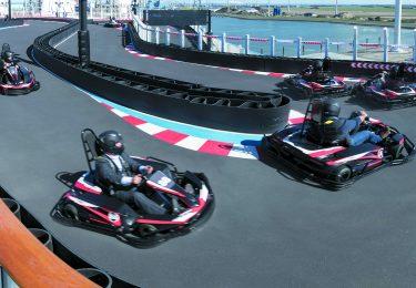 Norwegian Joy Go Kart Area