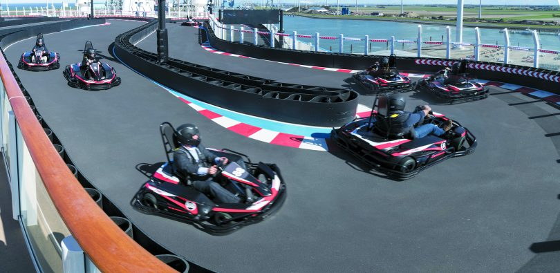Norwegian Joy Go Kart Area