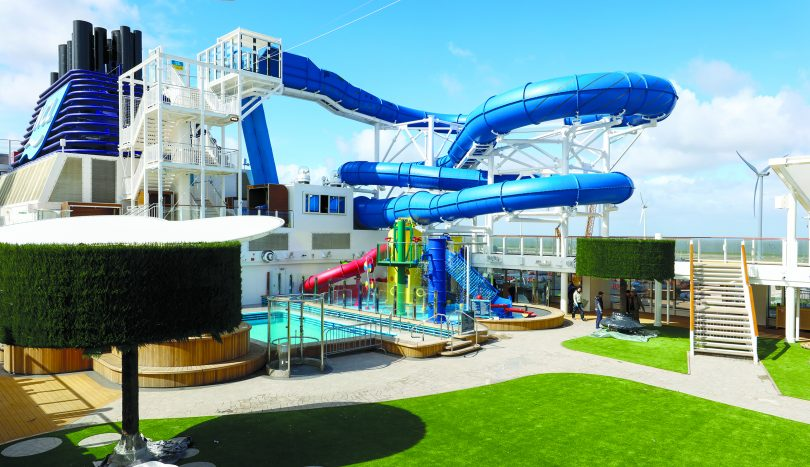 Norwegian Joy Park Area