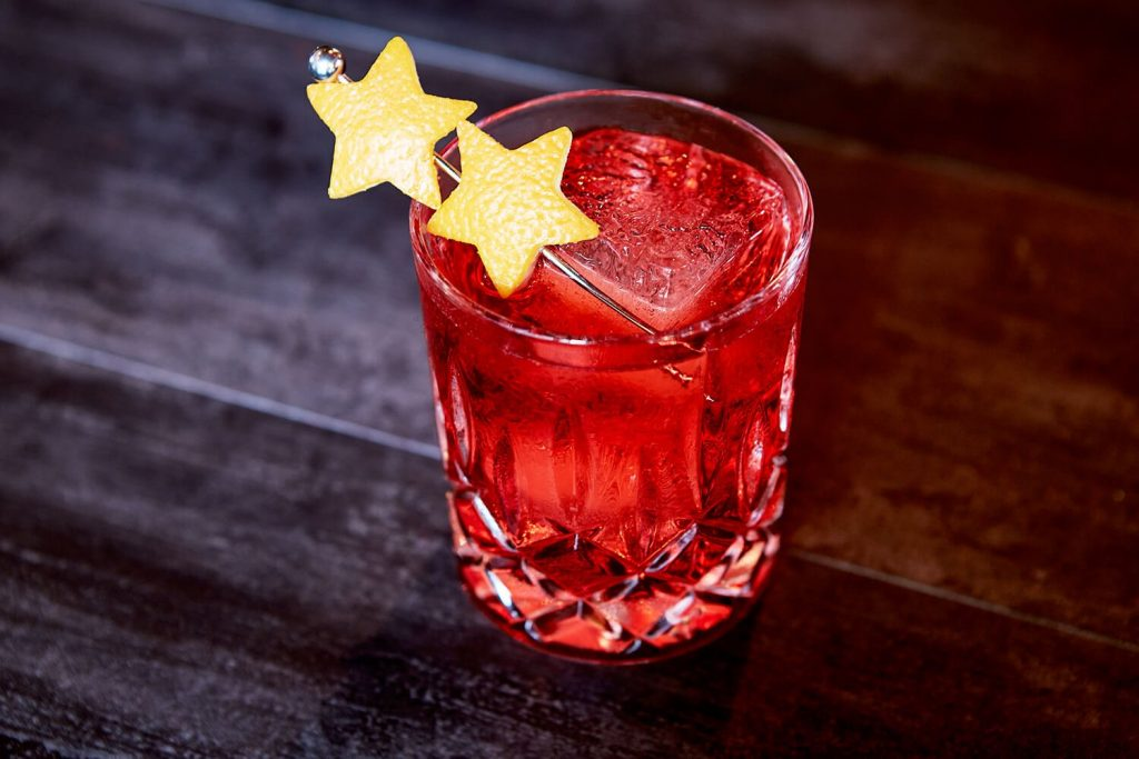 The Red Planet Negroni