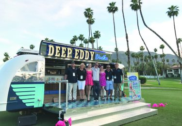 Deep Eddy Airstream- Deep Eddy Team and their launch of the Airstream.