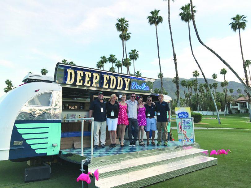 Deep Eddy Airstream- Deep Eddy Team and their launch of the Airstream.