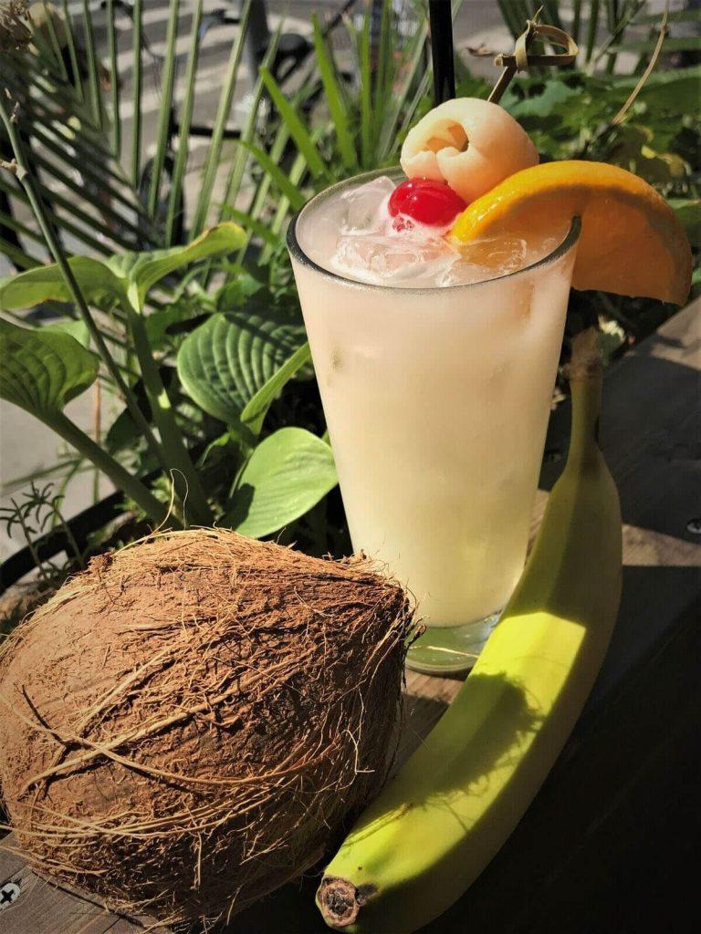 Bowery Pina Colada Cocktail