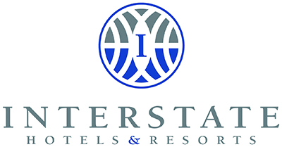 Interstate Hotels & Resorts logo - stacked
