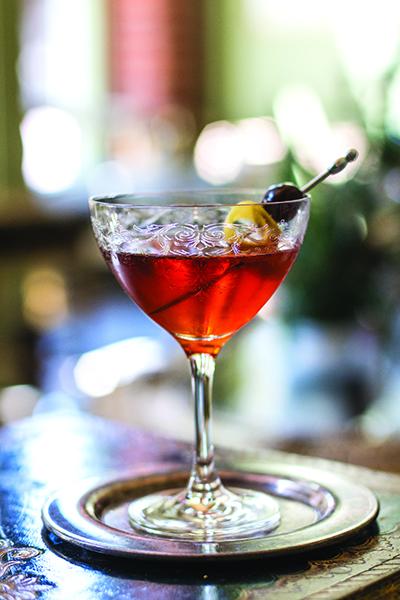 Fall Manhattan with Spiced Vermouth