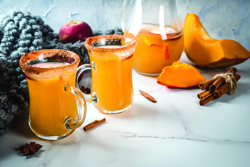 Spicy Hot Pumpkin Sangria