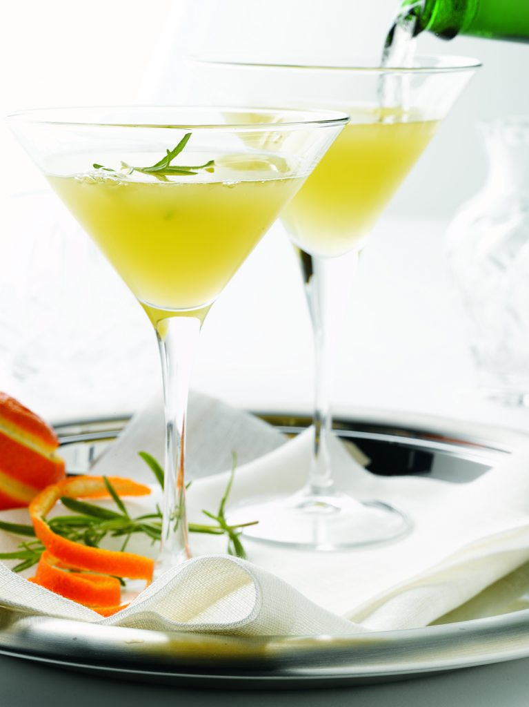 kathy casey - Rosmary Clementine Cocktail