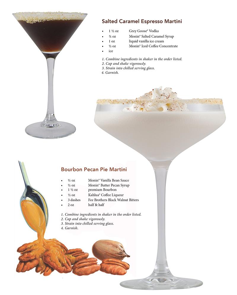 monin holiday cocktail recipes