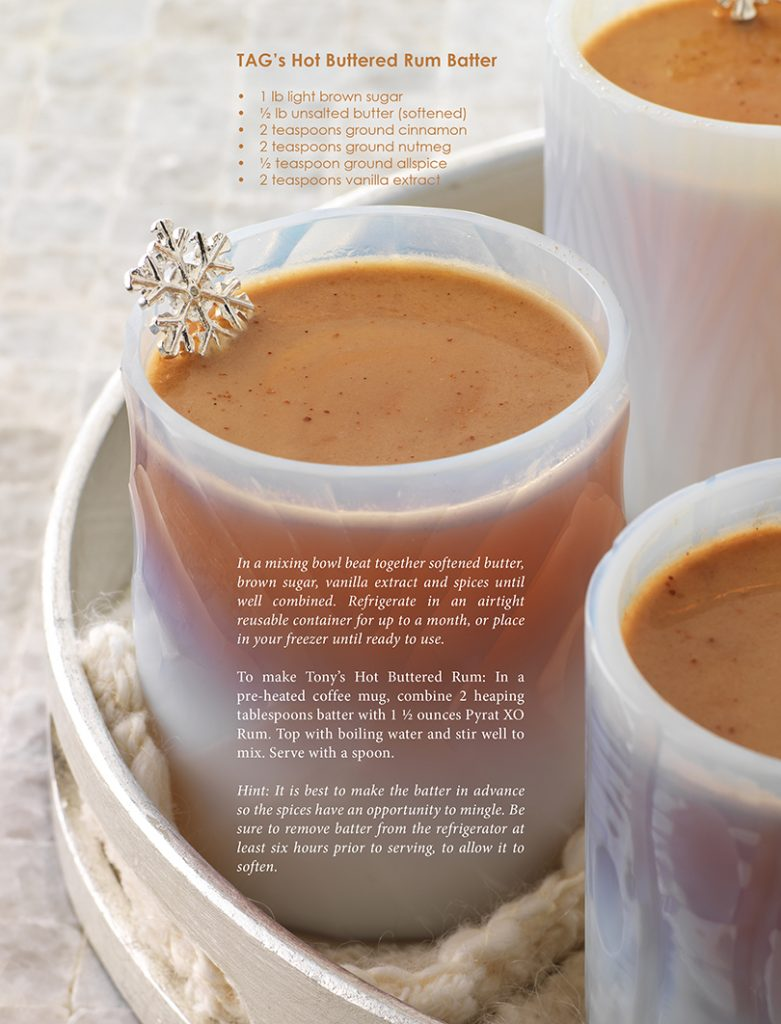 tony abou ganim - hot buttered rum recipe