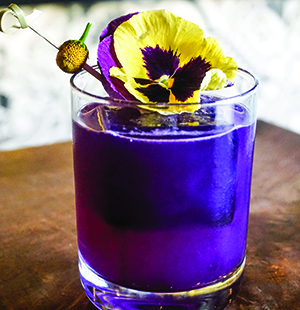 Kelly Magyarics - floral cocktail recipes