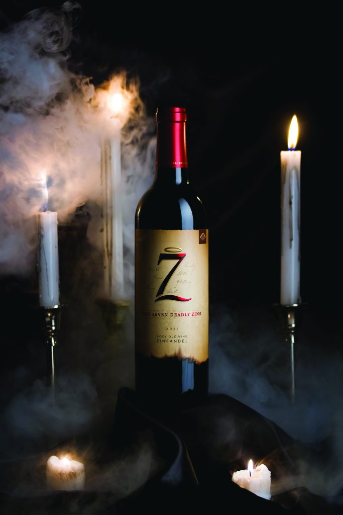 seven deadly zins wine