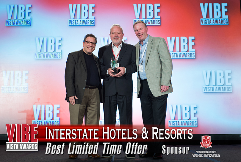 interstate hotels vibe award winner