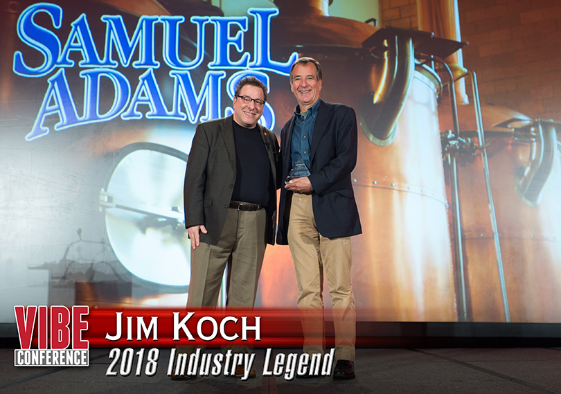 Jim Koch vibe conference award winner