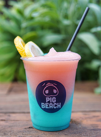 Pig Beach's Frose at Pig Beach