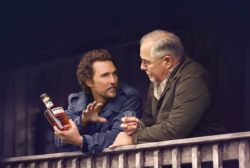 matthew mcconaughey for wild turkey