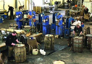 Barrel repair shop