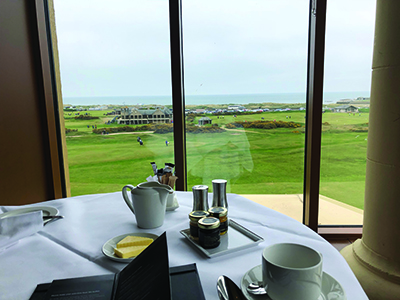 Dining at The Old Course Hotel