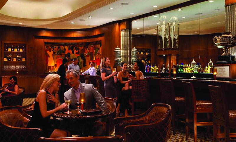 The Sazerac Bar in The Roosevelt Hotel