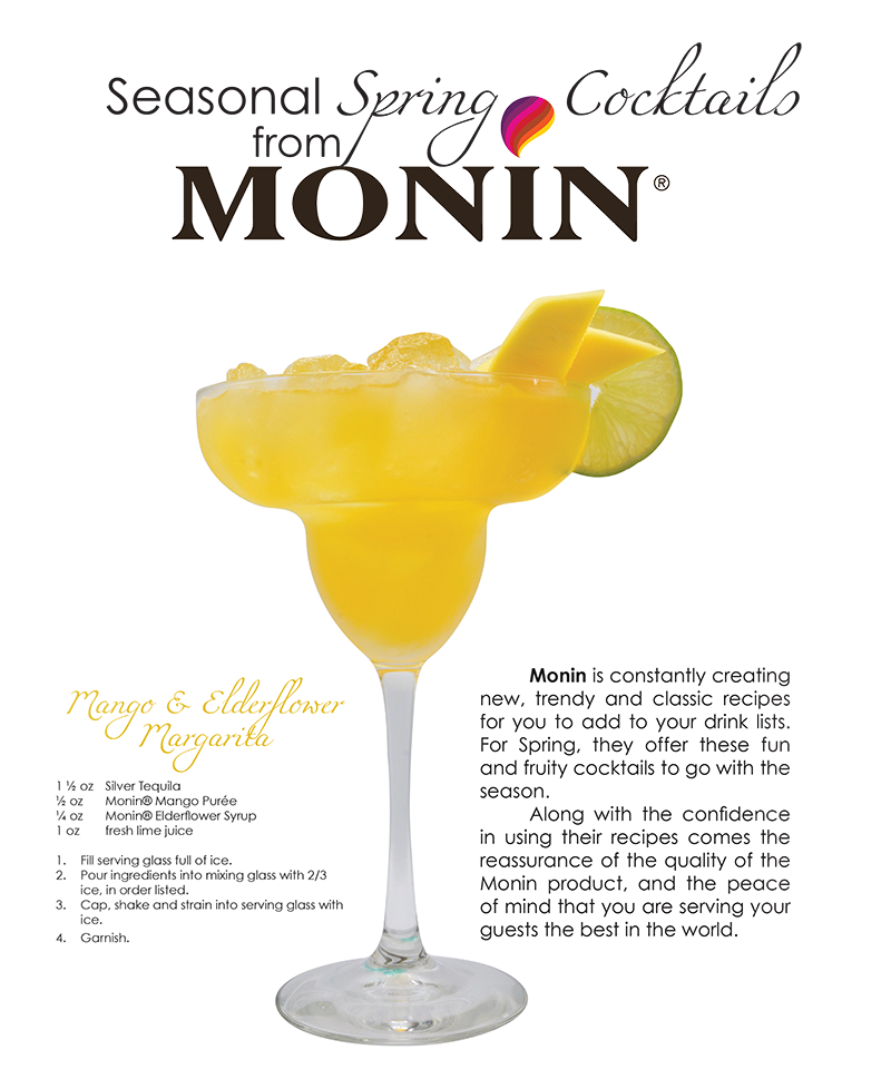 Seasonal Winter Cocktails from Monin