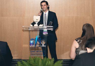 Kyle McElfresh receiving his CORE Ambassador of the Year 2018 award.