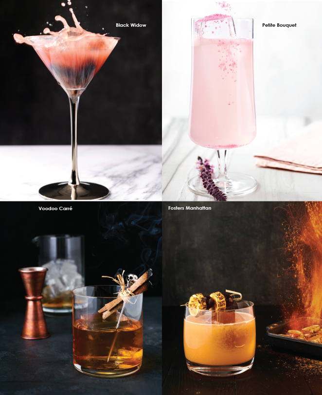 cocktails from marriott