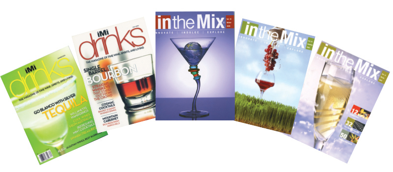 in the mix magazine history