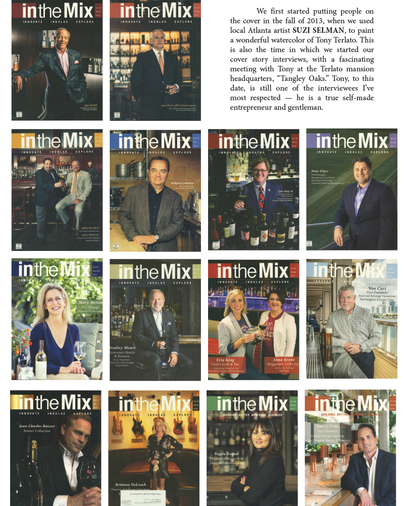 in the mix media